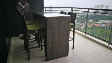 #BC-90 Bar Chair + 5feet table