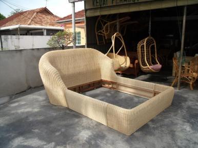 Rattan Bed 01