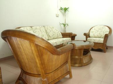 Bali Rattan Sofa Set