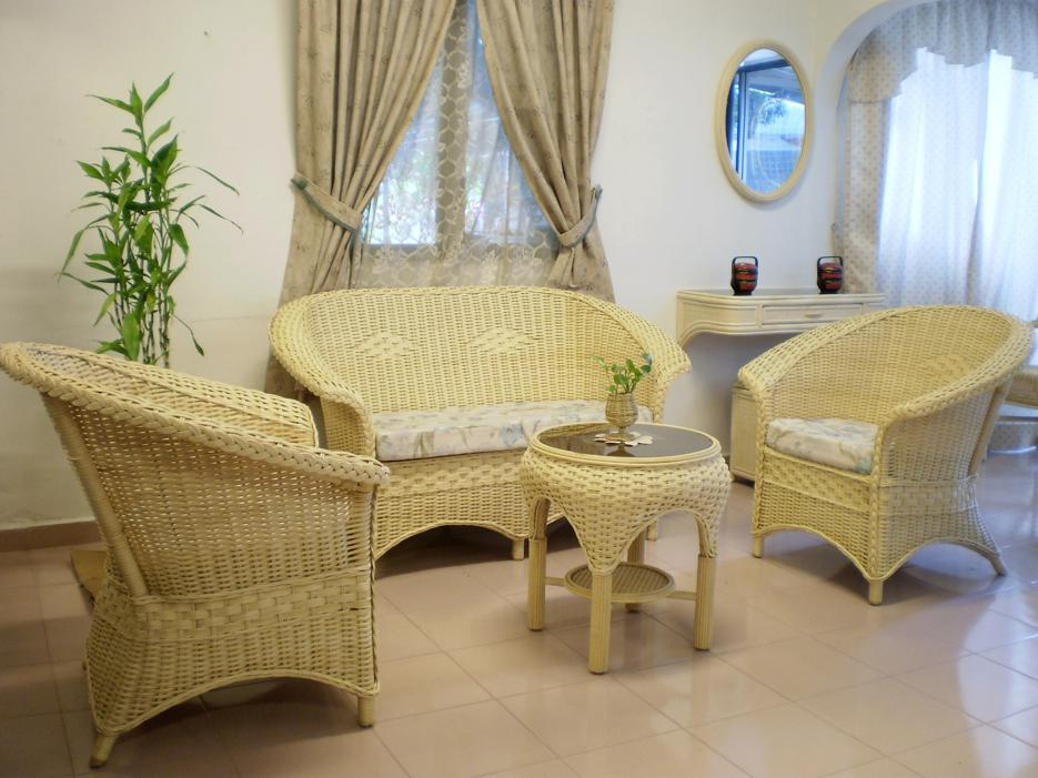 Langkawi Wicker Sofa Set