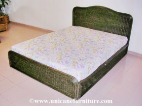 Rattan Bed 08