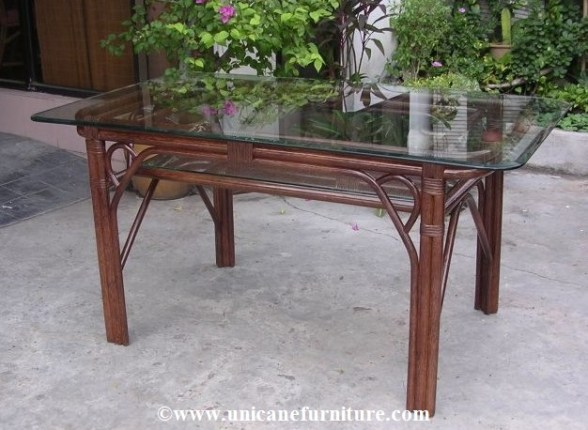 Rattan Dining Table 1753