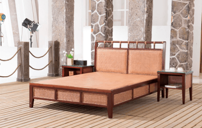 Sea Melody Rattan Bed Room Suite