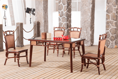 Sea Melody Rattan Dining Suite