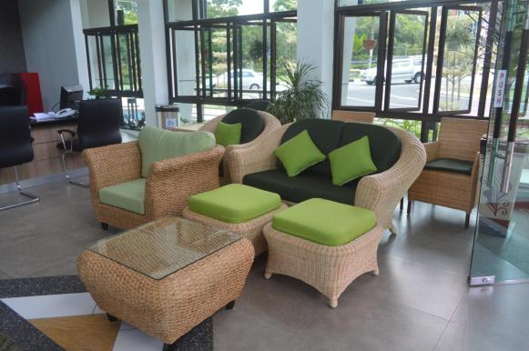 Universiti Utara Malaysia Welcome Center Anjung Tamu Rattan Sofa 11