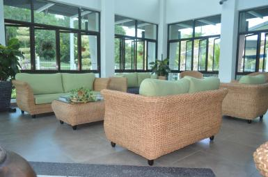 Universiti Utara Malaysia Welcome Center Anjung Tamu Rattan Sofa 2