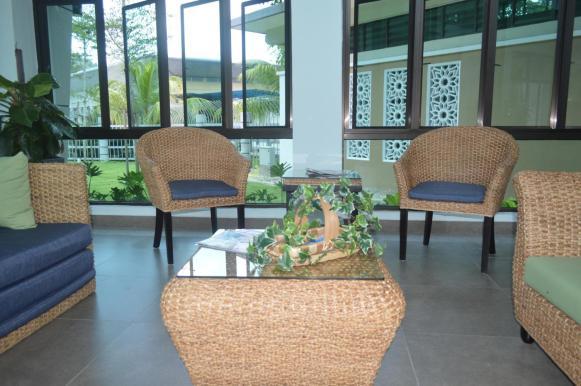 Universiti Utara Malaysia Welcome Center Anjung Tamu Rattan Sofa 3
