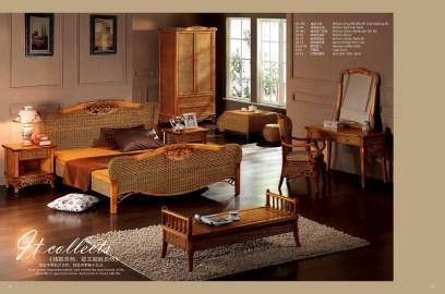 William Rattan Bedroom Suite
