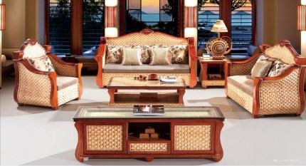 corolla rattan sofa