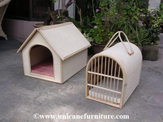 rattan pet house 1002