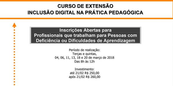 Inclusão Digital na Prática Pedagógica