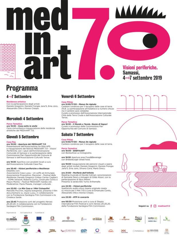 MEDINART 7 programma MEDinART: a Samassi torna il festival di terra, musica e arte
