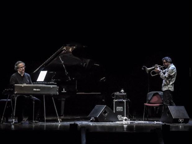 Paolo Fresu Uri Caine @Roberto Cifarelli05 Oltre i confini, Paolo Fresu e Uri Caine inaugurano la nuova edizione del festival