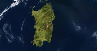 Sardegna dal satellite