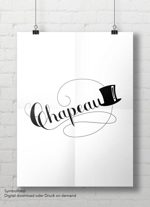 Poster Chapeau
