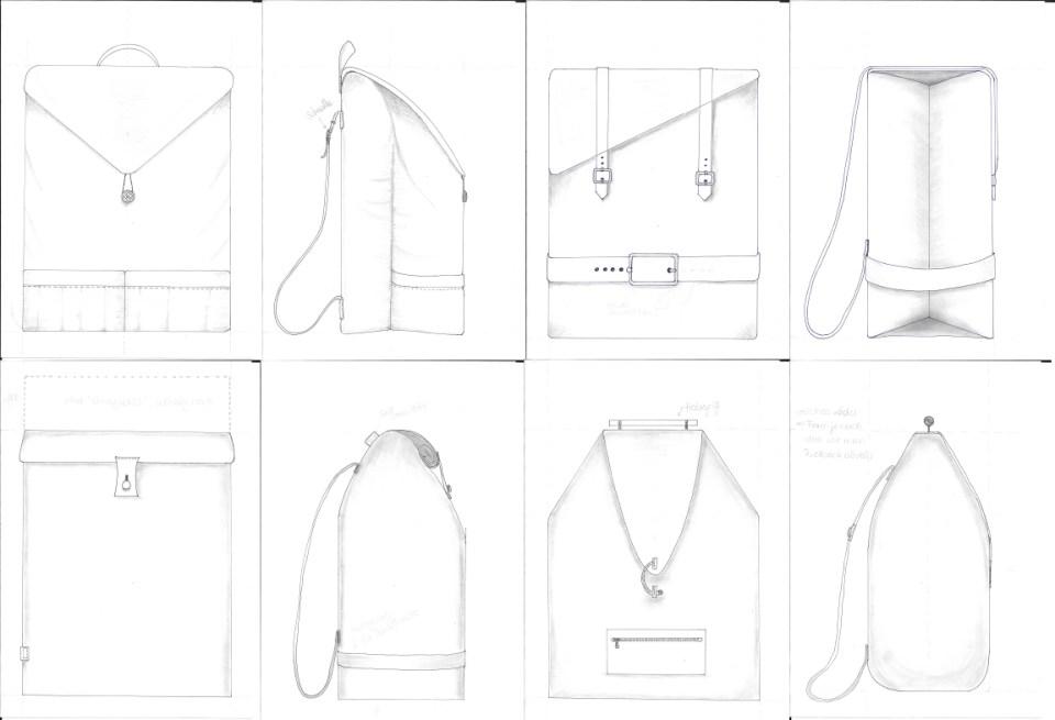 design rucksack