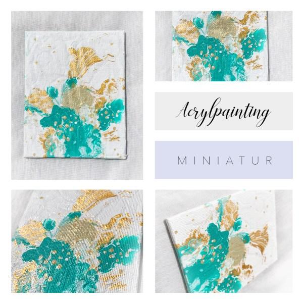 acrylbild miniatur