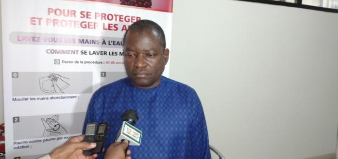 Sékouba Savané, le Directeur général de la RTG (Radiotélévision Guinéenne)
