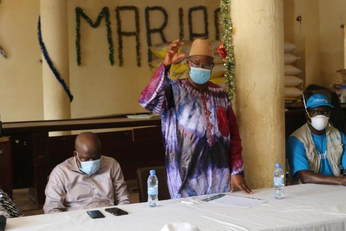Koïdouze Toupou, Chef de cabinet du gouvernorat de la ville de Conakry