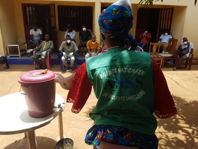 Les jeunes du quartier Nongo de Conakry s'engagent !