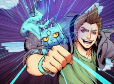 El Rubius - virtual hero - anime - serie movistar