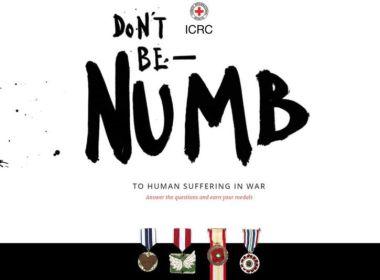 juego - videojuego - concienciar guerra - dont be numb - juego educativo - contra la guerra - cruz roja juego