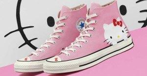 Hello-Kitty X Converse Chuck Taylor