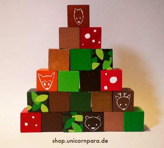 woodland blocks pyramid