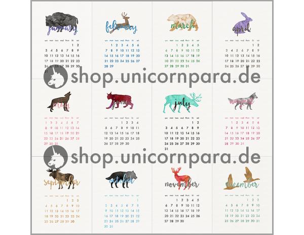 mini calendar etsy 3