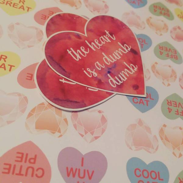 heart stickers