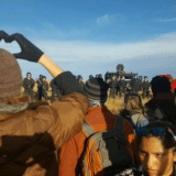 Water Protectors' Prayer Walk Ends up with 127 Arrests, Including Unicorn Riot Journalist