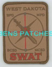 West Dakota SWAT Team patch