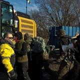 Direct Action Continues To Disrupt Dakota Access Pipeline Construction in Iowa
