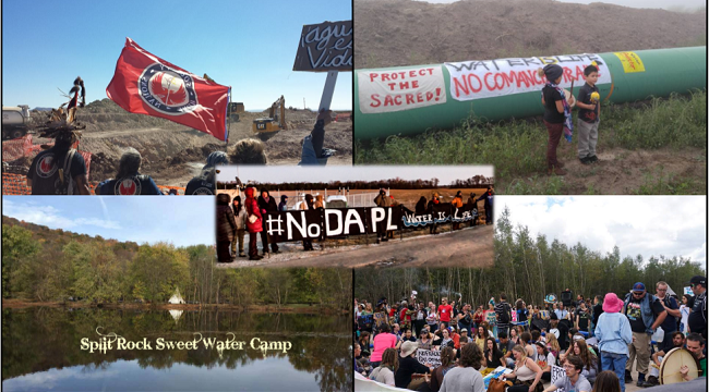 Indigenous-Led Pipeline Resistance Camps Spread Across the USA
