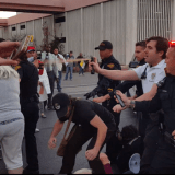Arizona Anti-ICE Demo Meets Arrests and Chemical Agents