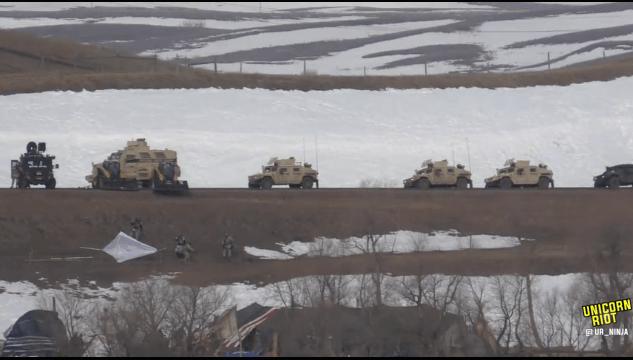 North Dakota Dismantles #NoDAPL Oceti Camp F23-hmv3