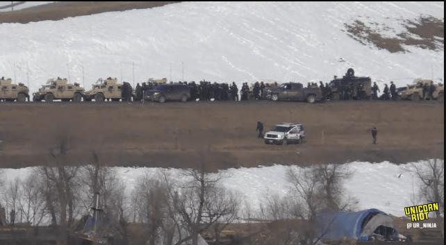 North Dakota Dismantles #NoDAPL Oceti Camp F23-hmv5
