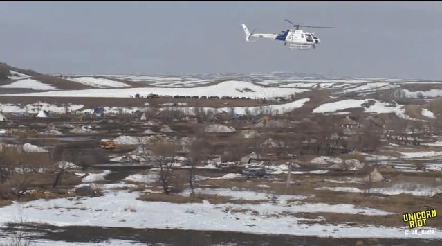North Dakota Dismantles #NoDAPL Oceti Camp F23-invade3