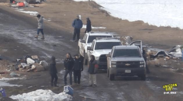 North Dakota Dismantles #NoDAPL Oceti Camp F23-rosebud2-early