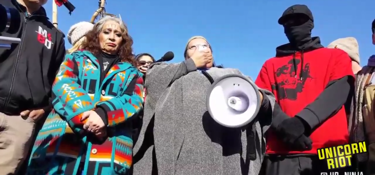 Eviction Threats Loom as Hundreds Remain at #NoDAPL Camps