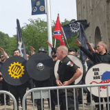 Standoff Between Neo-Nazis and Antifascists in Pikeville, KY