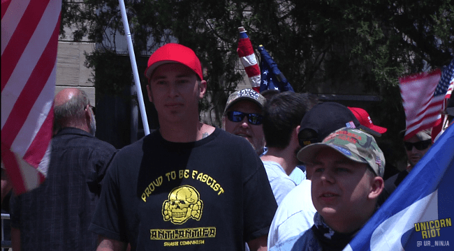 """Far-Right """"Proud Boys"""" Hold Free Speech Rally Attended by Colorado Neo-Nazis"""