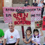 Greece: Action of Solidarity With Squats and Against Evictions