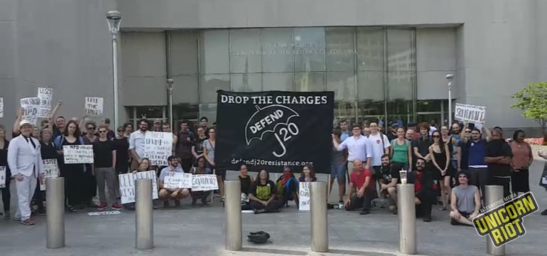 J20 Indictment Challenged in Motions Hearing; One Count Dismissed