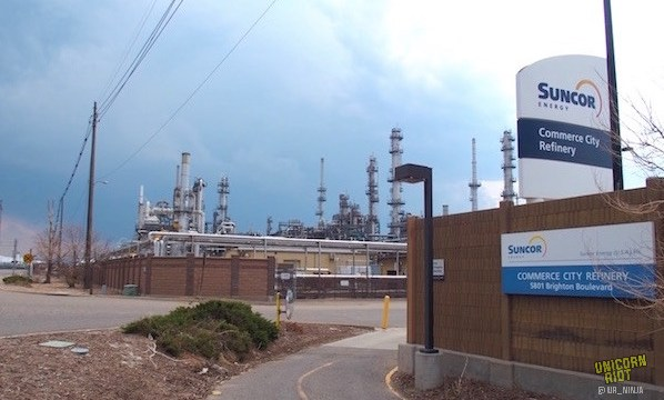 """""""I'm Very Scared and I'm a Sad Mom"""": Commerce City Residents Testify at Suncor Refinery Expansion Hearing"""
