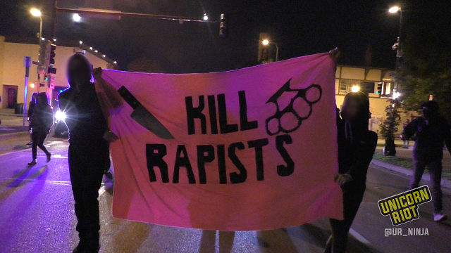 Minneapolis Residents March Against Rape Culture and Fraternities
