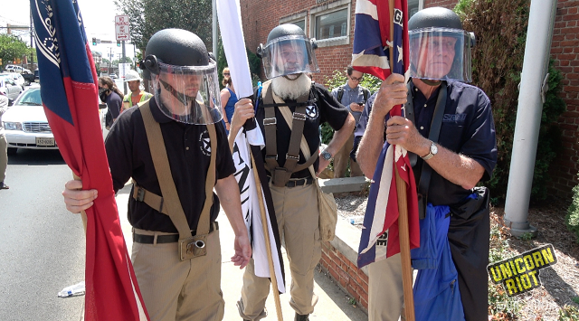 "Groups Behind Unite The Right Sued For ""Illegal Paramilitary Activity"""
