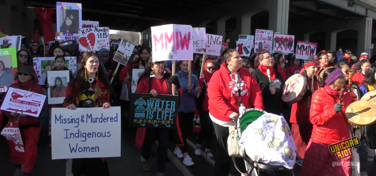 March Raises Alarm for Missing and Murdered Indigenous Women