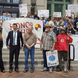 Judge Accepts Water Protectors' Climate Change Necessity Defense