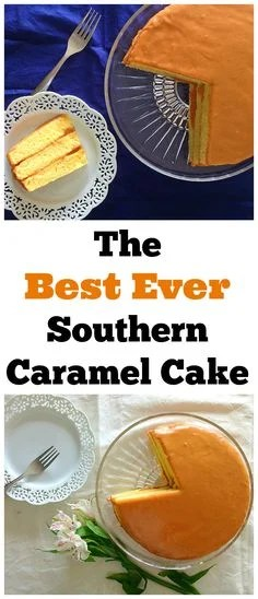 This is the Best Ever Southern Caramel Cake! Every bite is from heaven!